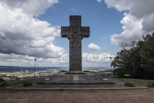 Croix de la libération, Autun, France