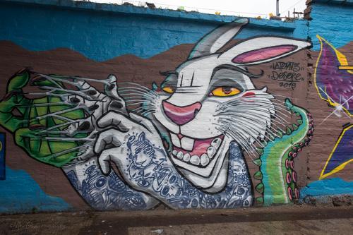 Graffiti  Quito