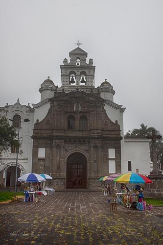 Guapulo Colonial Church Iglesia Nuestra Senora de Guapulo Quito Ecuador