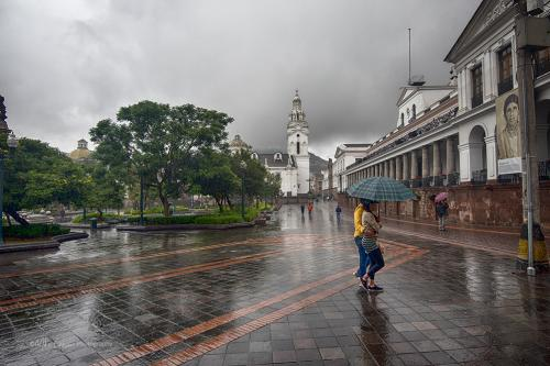 Independence Square, Quito Old Town