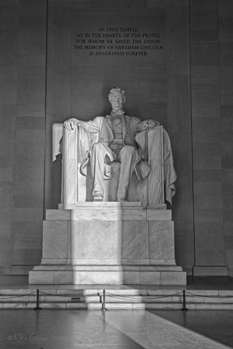 Lincoln Memorial - by the dawn's early light - Washington DC