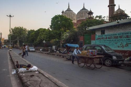 Near Jama Masjid, Old Delhi, India