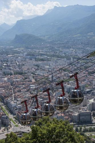 View from the Bastille, Grenoble