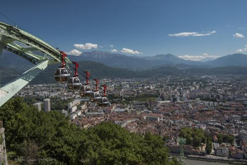 View from the Bastille, Grenoble 3