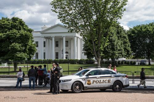 white house with police car mgp 12 (1)
